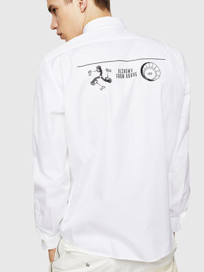 S-VEN-PRINT, Blanc - Chemises