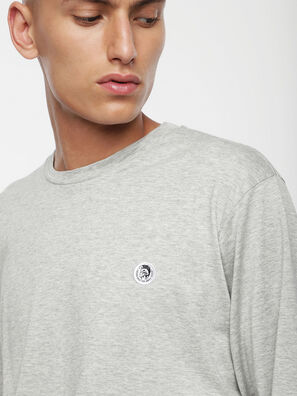 T-JUSTY-LS, Gris Clair - T-Shirts