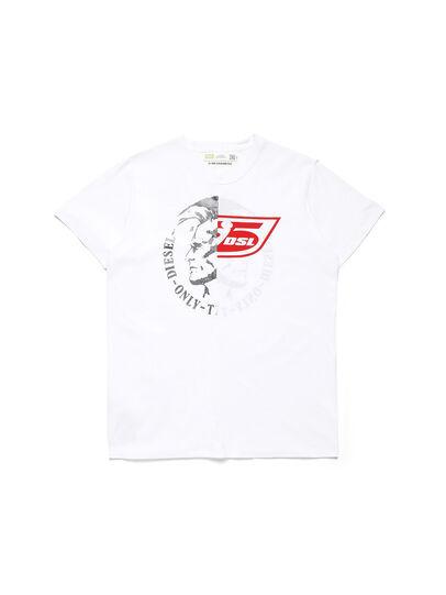 Diesel - D-MESO&MESO, Blanc - T-Shirts - Image 1