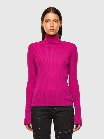 Diesel - M-KIMBERLY, Fuchsia - Pull Maille - Image 1