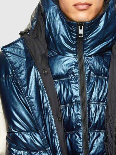 Diesel - W-SELLERS, Bleu - Vestes d'hiver - Image 4