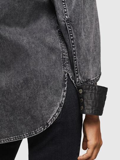 Diesel - DE-COLLY, Noir/Gris foncé - Chemises en Denim - Image 5