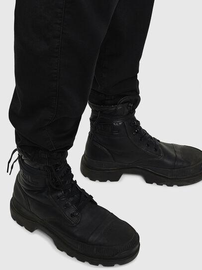 Diesel - D-Toller JoggJeans 0687Z, Noir/Gris foncé - Jeans - Image 6