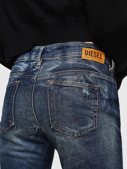 Diesel - D-Rifty 089AL, Bleu Foncé - Jeans - Image 4