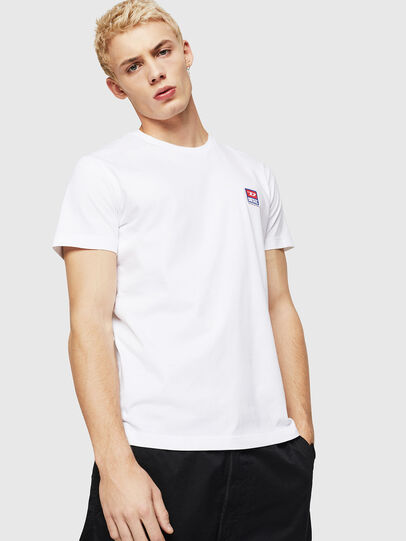 Diesel - T-DIEGO-DIV, Blanc - T-Shirts - Image 1