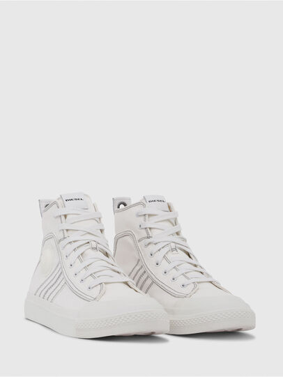 Diesel - S-ASTICO MID LACE, Blanc - Baskets - Image 2