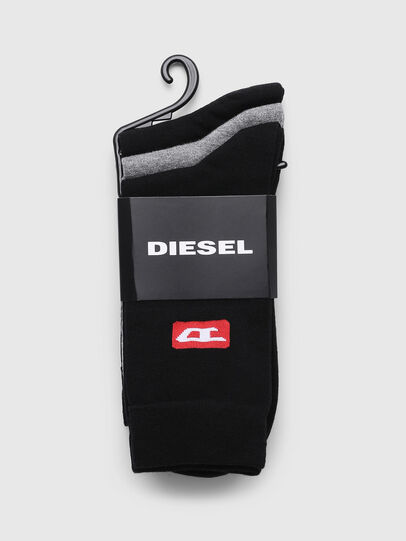 Diesel - SKM-RAY-THREEPACK, Multicolore - Chaussettes - Image 2
