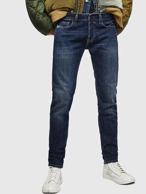 Sleenker 083AV, Bleu Foncé - Jeans