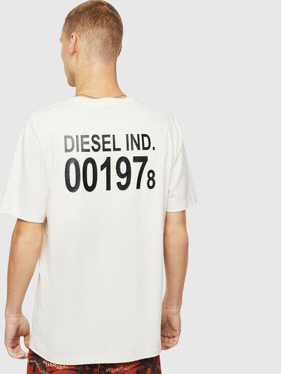 Diesel - T-JUST-VINT, Blanc - T-Shirts - Image 2
