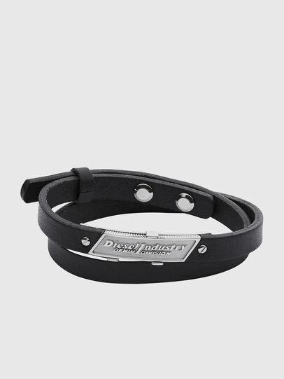 Diesel - BRACELET DX1034, Noir - Bracelets - Image 1