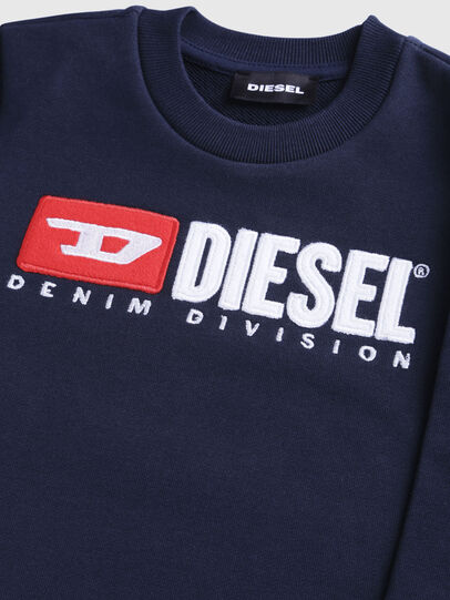 Diesel - SCREWDIVISIONB-R, Bleu Foncé - Pull Cotton - Image 3