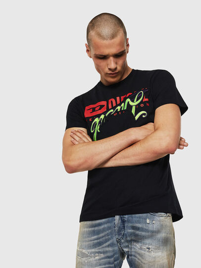 Diesel - T-DIEGO-BX1, Noir - T-Shirts - Image 1