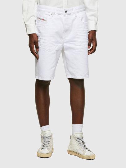 Diesel - D-STRUKT-SHORT, Blanc - Shorts - Image 1
