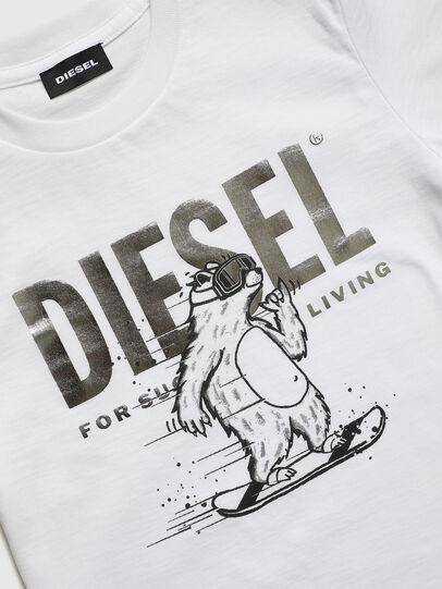 Diesel - TBEAR-TSE, Blanc - T-shirts et Hauts - Image 3