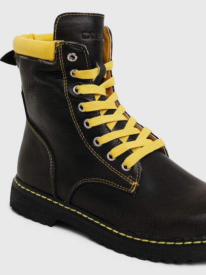 Diesel - HB LACE UP 04 CH, Noir - Footwear - Image 4