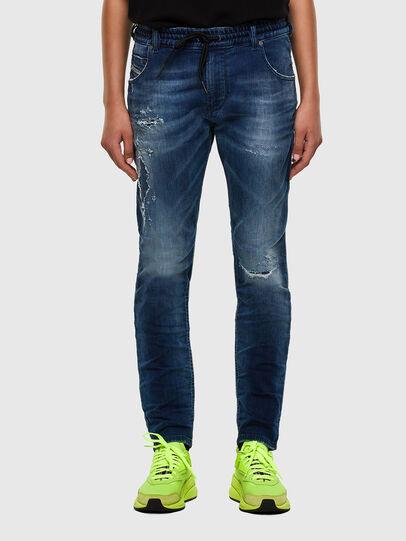 Diesel - Krailey JoggJeans 069PL, Bleu Foncé - Jeans - Image 1