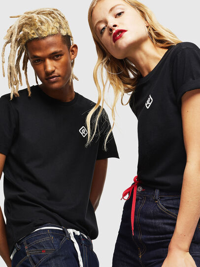 Diesel - CC-T-DIEGO-COLA, Noir - T-Shirts - Image 6