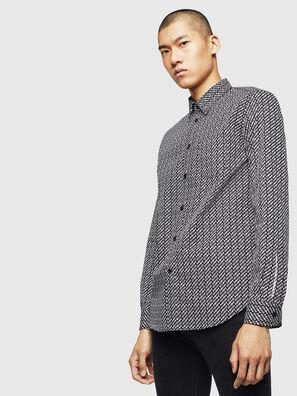 S-VEN-MOHAWK, Noir/Blanc - Chemises