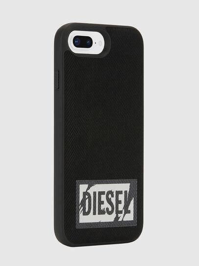 Diesel - BLACK DENIM IPHONE 8 PLUS/7 PLUS/6S PLUS/6 PLUS CASE, Noir - Coques - Image 5