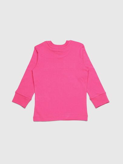 Diesel - TJUSTDIVISIONB ML-R, Rose - T-shirts et Hauts - Image 2