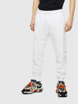 P-ORTEX, Blanc - Pantalons