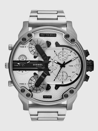 09a8a4b2972f9 Mr. Daddy 2.0 montre chronographe en acier inoxydable
