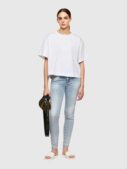 Diesel - Slandy High 009TG, Bleu Clair - Jeans - Image 5