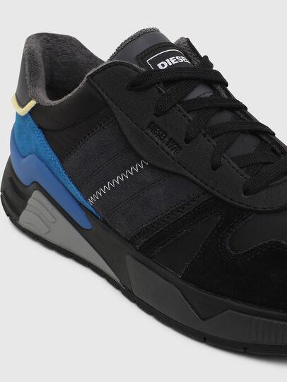 Diesel - S-BRENTHA FLOW, Noir/Bleu - Baskets - Image 4