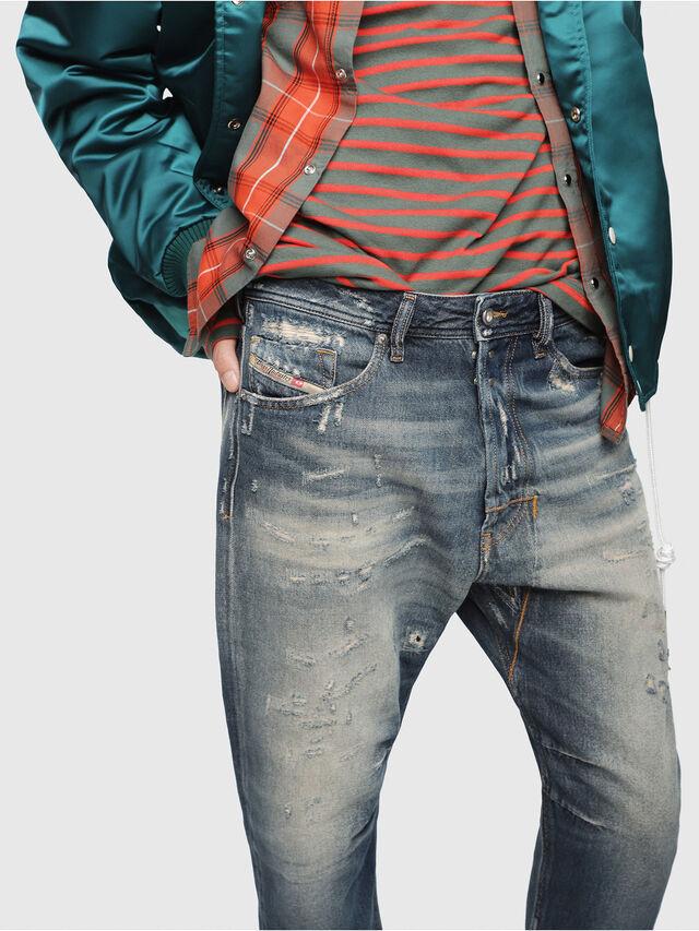 Diesel - Narrot 088AQ, Bleu Foncé - Jeans - Image 3