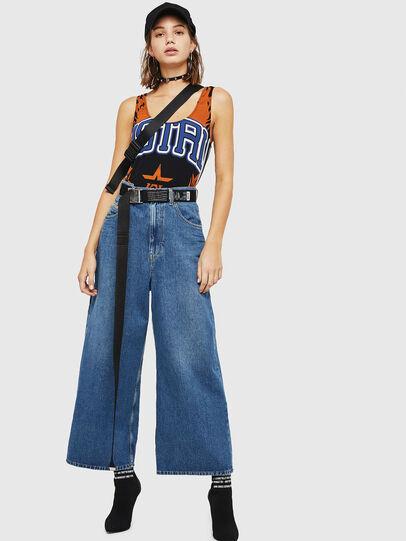 Diesel - D-Luite 080AN, Bleu moyen - Jeans - Image 6