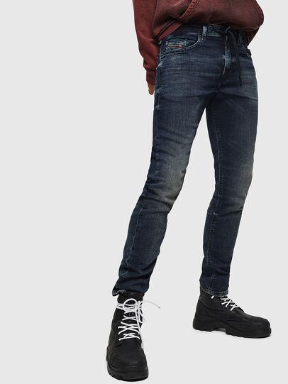 Diesel - Thommer JoggJeans 069GD, Bleu Foncé - Jeans - Image 1