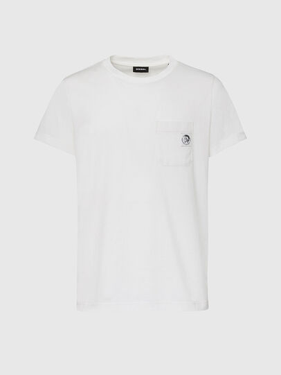 Diesel - T-WORKY-MOHI, Blanc - T-Shirts - Image 1