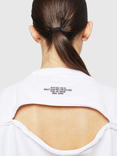 Diesel - F-LYANYDY-A, Blanc - Pull Cotton - Image 4