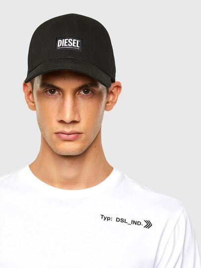 Diesel - T-JUST-LS-A8, Blanc - T-Shirts - Image 3