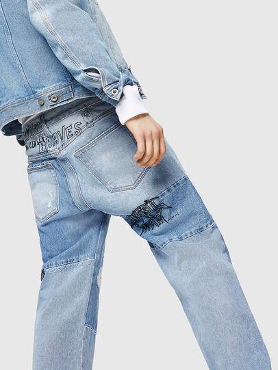 Diesel - D-Kodeck 0078F, Bleu Clair - Jeans - Image 4
