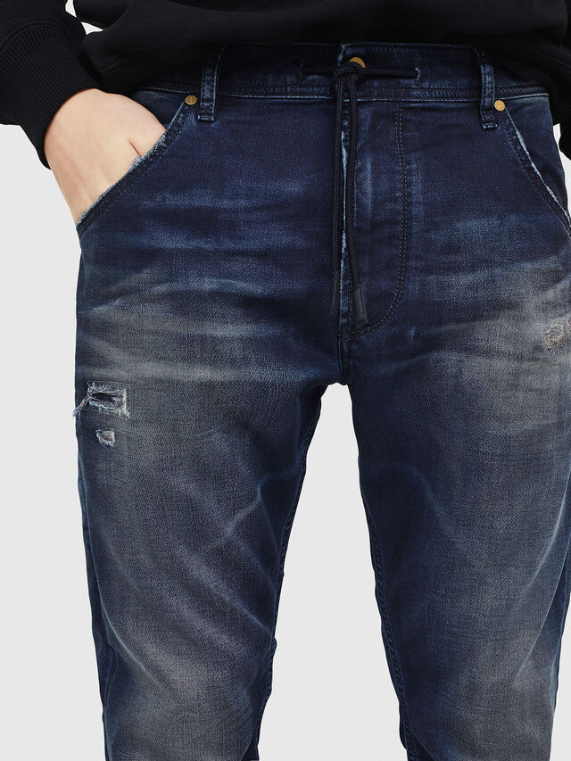 Diesel - Krooley JoggJeans 069GZ, Bleu Foncé - Jeans - Image 4
