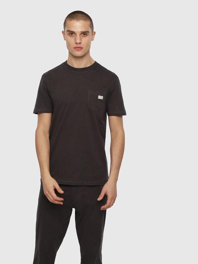 Diesel - UMLT-JAKE, Gris foncé - T-Shirts - Image 1