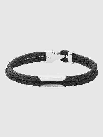 Diesel - DX1247, Noir - Bracelets - Image 1