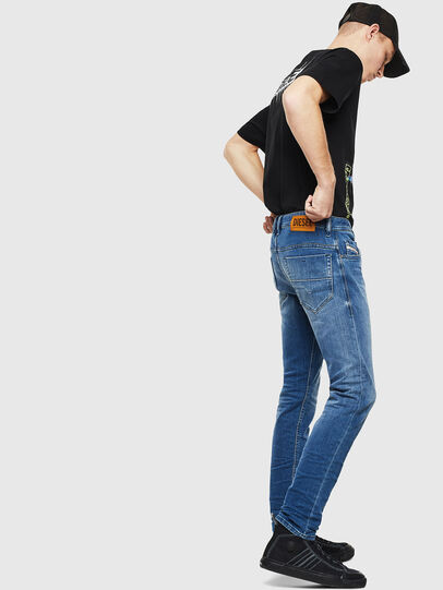 Diesel - Thommer 0097X, Bleu moyen - Jeans - Image 4