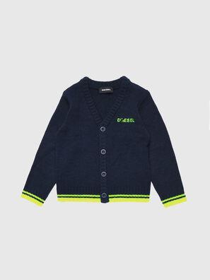 KAPIB, Bleu/Vert - Pull Maille