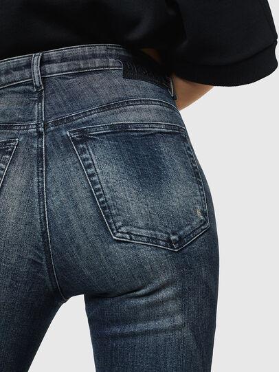 Diesel - Babhila High 069HN, Bleu Foncé - Jeans - Image 5