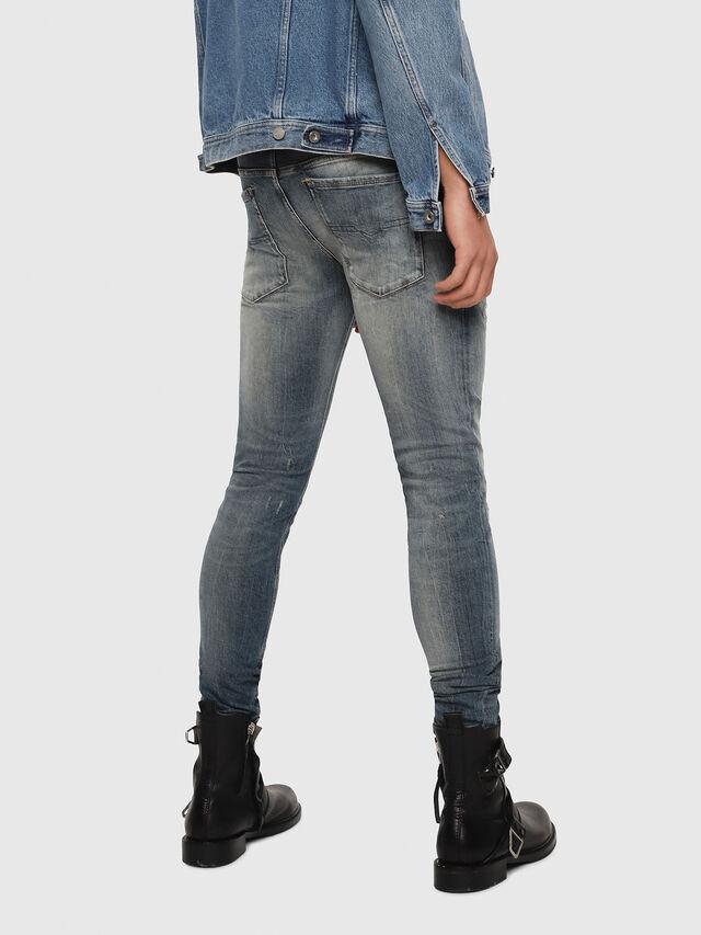 Diesel - Sleenker 069DK, Bleu moyen - Jeans - Image 2