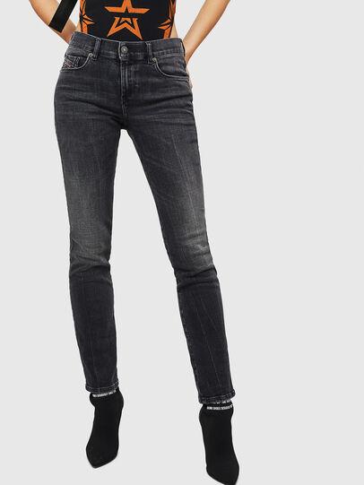 Diesel - Sandy 081AH, Noir/Gris foncé - Jeans - Image 1