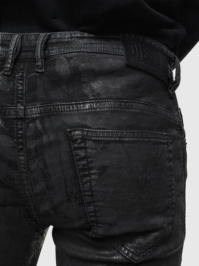 Diesel - Thommer JoggJeans 084AI, Noir/Gris foncé - Jeans - Image 4