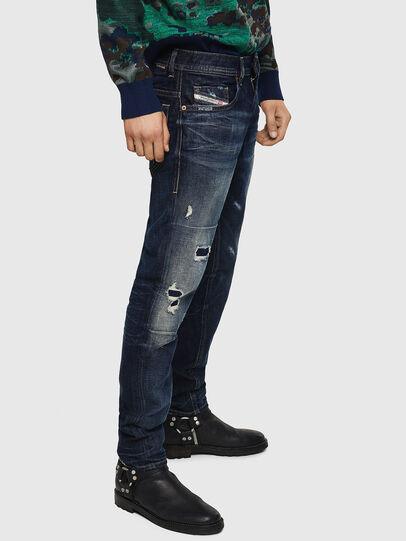 Diesel - Thommer 0890W, Bleu Foncé - Jeans - Image 5