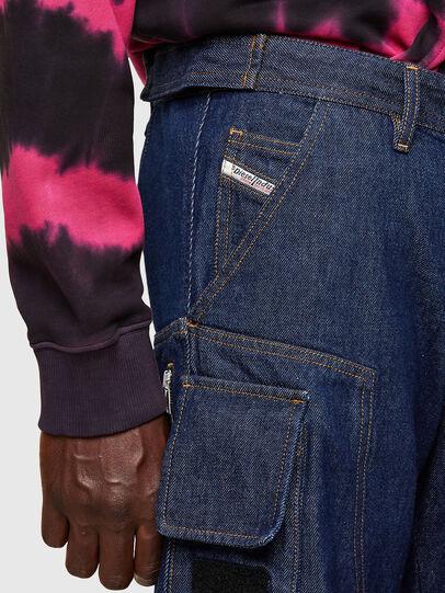 Diesel - D-KARGO, Bleu moyen - Pantalons - Image 4