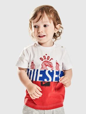 TRICKYB, Blanc/Rouge/Bleu - T-shirts et Hauts