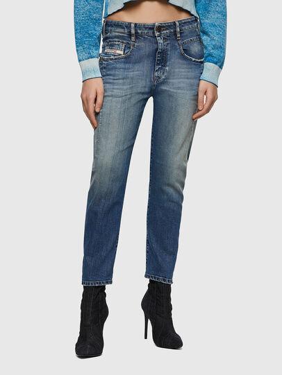 Diesel - Fayza 09A08, Bleu moyen - Jeans - Image 1