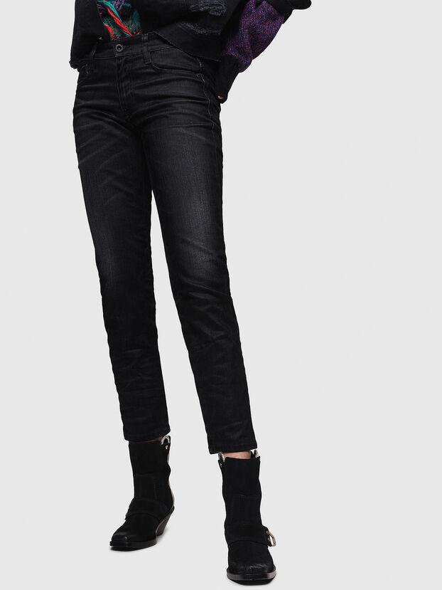 D-Rifty 0091I, Noir/Gris foncé - Jeans