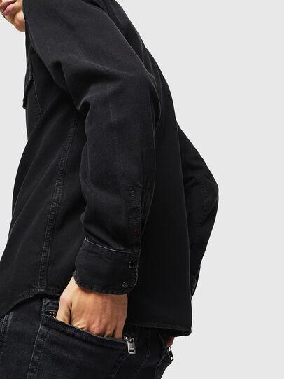 Diesel - D-EAST-P, Noir - Chemises en Denim - Image 5